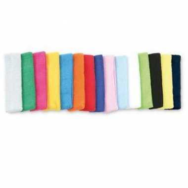 Gekleurde hoofd zweetbandjes